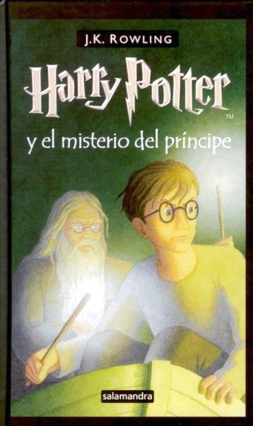 Harry Potter y el Misterio del Principe – libro
