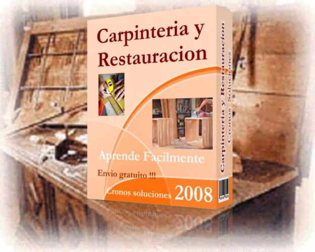 Manual de carpinteria y restauracion libros recomendados for Manual de carpinteria muebles pdf