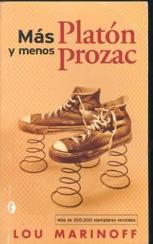 Portada Más Platón y Menos Prozac