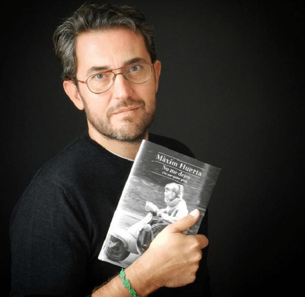No Me Dejes, Nueva Novela de Maxim Huerta
