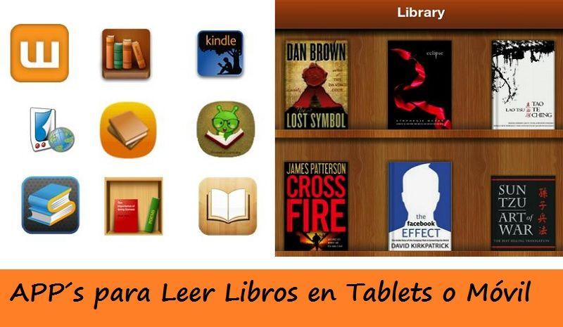 Aplicaciones Leer Libros Tablets