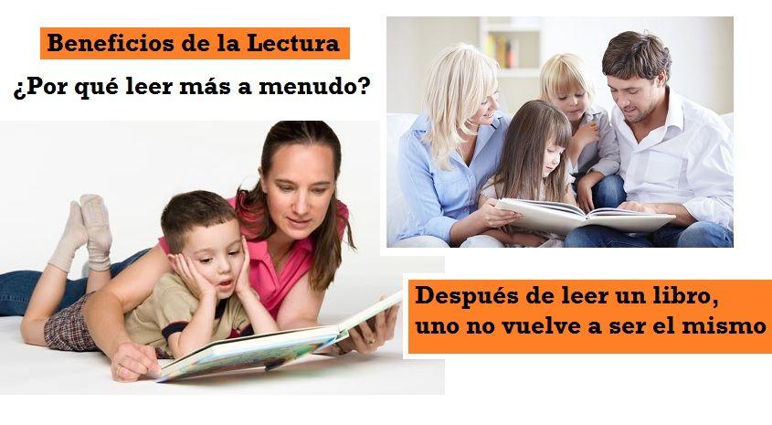 Beneficios Leer Libro