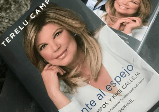 Terelu Campos publica el Libro, Frente al Espejo