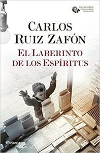 Libro El laberinto de los espiritus, Carlos Ruiz Zafon